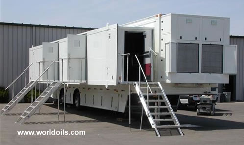 Customized Citadel Class Mobile Emergency Command Trailer