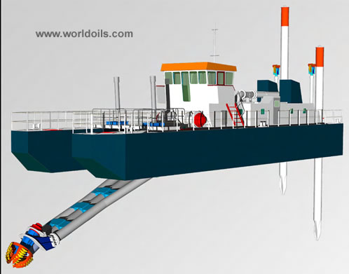 Cutter Suction Dredger - C18 - for Sale