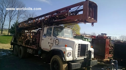 Cyclone TH60 Used Drilll Rig for Sale