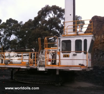 Used Rig Ingersoll-Rand DM25SPfor Sale