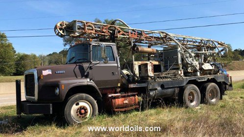 Davey M8A Table Drive Drilling Rig for Sale
