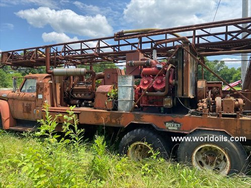 Davey Rotary Table Drilling Rig - For Sale