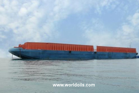 Deck Barge - 128m - for Sale