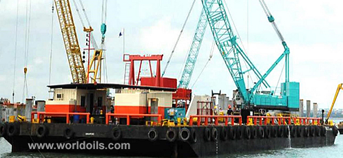 Steel Flat Top Deck Cargo Barge for sale