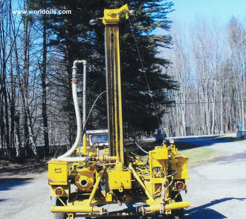 Drilling Rig - Deep Rock CTM 10,000 - 1986 Built for Sale
