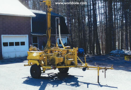Used Deep Rock CTM 10,000 Drilling Rig 1986 Built
