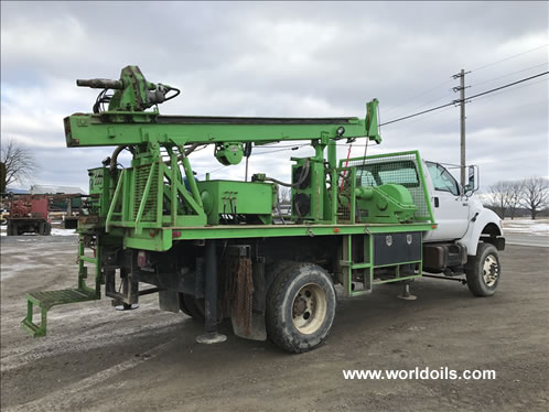DeepRock DR-150 Used Drill Rig