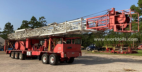 2002 Dreco Rig, Model K600H Five Axle K100C Carrier Rig