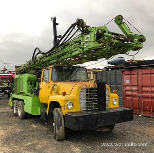 Drilling Rig - Chicago Pneumatic 650 - 1972 Built for Sale
