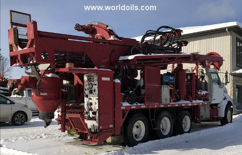 Drilling Rig - Foremost Barber DR12 PTO - For Sale