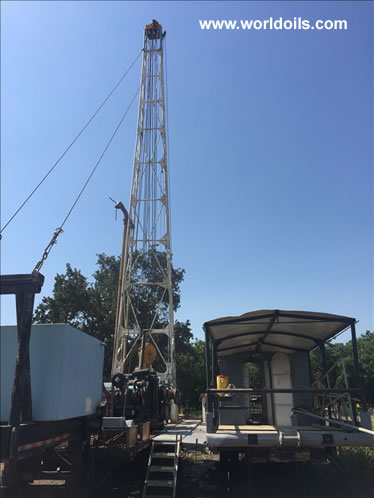 Gardner Denver Drilling Rig - 1978 Built for Sale