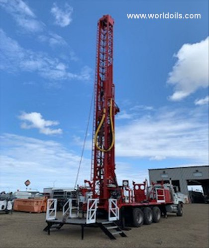 Drilling Rig - Ingersoll-Rand T3W - For Sale