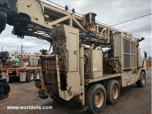 Drilling Rig - Ingersoll-Rand T4W - For Sale