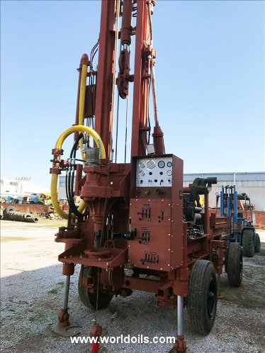Drilling Rig - KAT.ST.250 Fully Hydraulic - For Sale