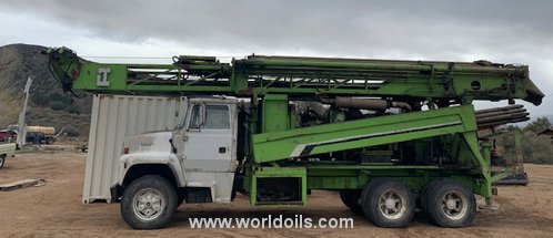 Drilling Rig - Reichdrill T625 - For Sale