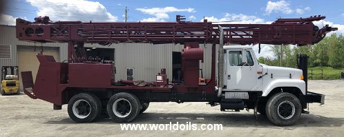 Drilling Rig - Reichdrill T650W - For Sale