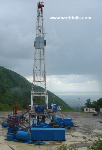 Drilling Structures 800hp Rig for Sale