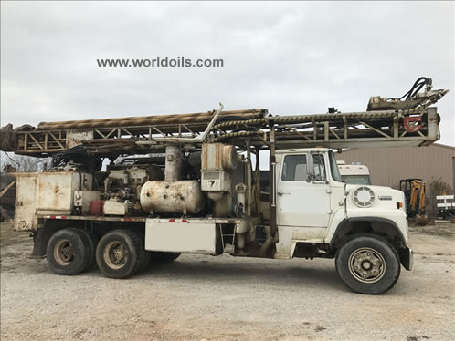 Driltech D-25 Drill Rig for Sale