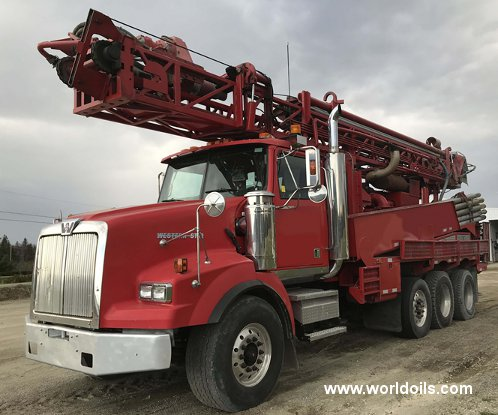 Driltech D25 Drilling Rig - 2006 Built for Sale