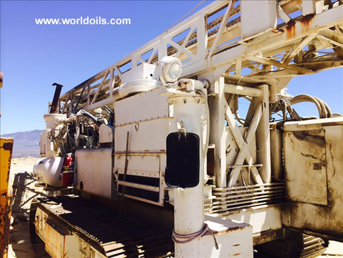 Driltech D40K Crawler Used Drill Rig for Sale
