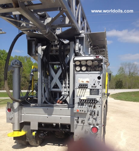 Driltech D40K Drill Rig in USA