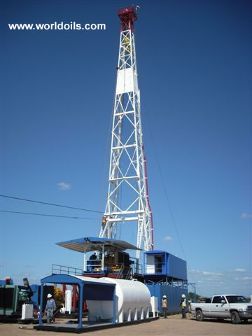 Drilling Rig - EMSCO GB 500 - 1200hp for sale