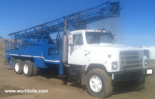 Failing CF-15 Drill Rig - 1986 Built for Sale