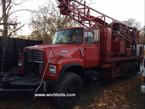 Failing F-10-WT Drill Rig for Sale