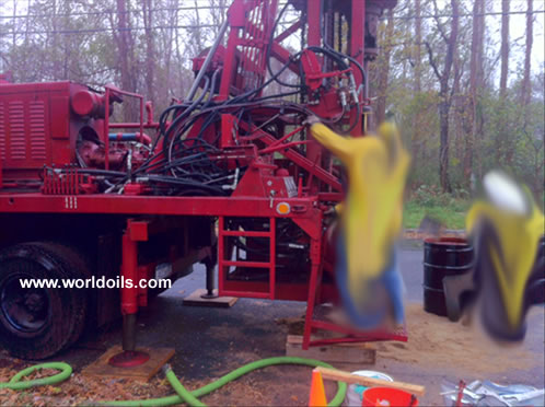 1989 Built Failing Drill Rig for Sale in USA