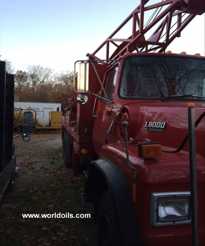 Used Land Drill Rig for Sale