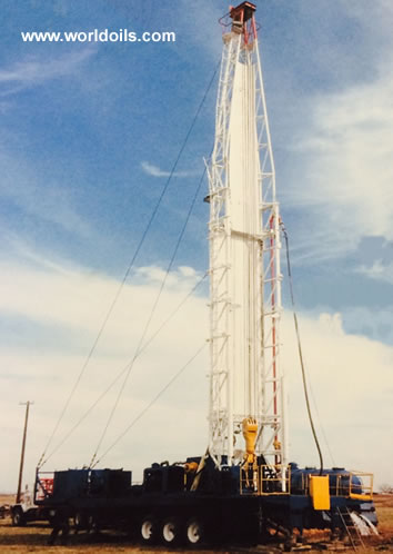 Failing Holemaster 3000-CF Drill Rig for Sale