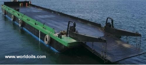 Flattop Barge - 2000 Built - for Sale