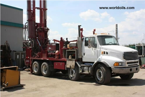 Foremost Barber DR12 Used Drilling Rig for Sale