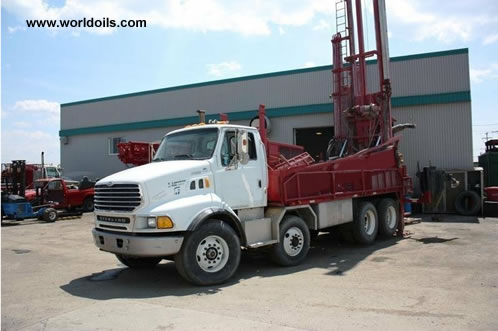 Foremost Barber DR12 Drilling Rig 2002 built