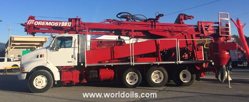 Foremost Barber DR12 PTO Drilling Rig - For Sale