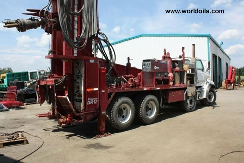 Used Drilling Rig Foremost Barber DR12 2002 built