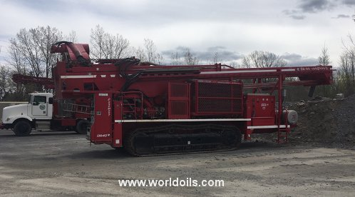 Foremost DR-40 Crawler Drilling Rig - For Sale