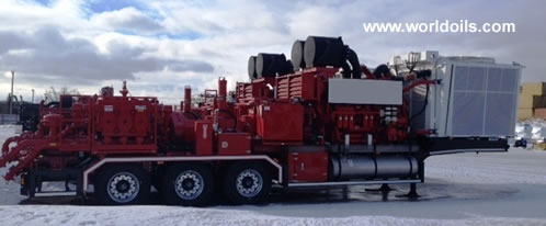 Frac Equipment Spread for Sale