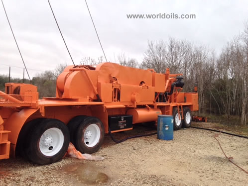Franks 658 Drilling Rig for Sale