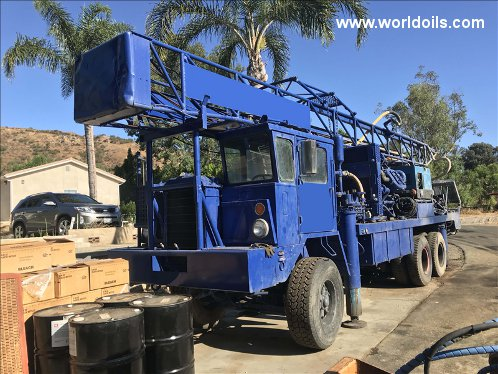 Gardner Denver 14W Drilling Rig - For Sale