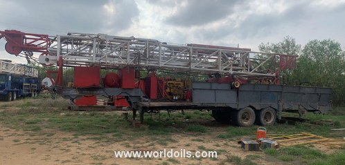 Gardner Denver 2500 Drilling Rig - For Sale
