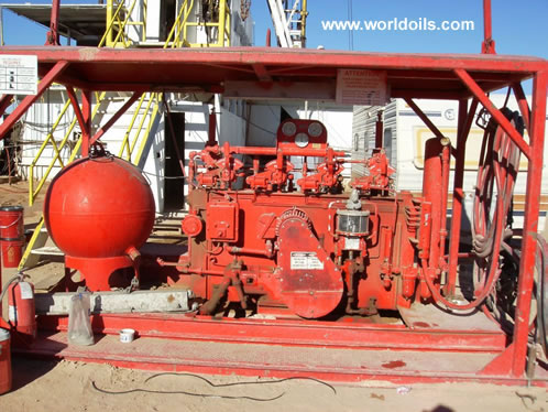 700 HP Mechanical Drill Rig for Sale in USA