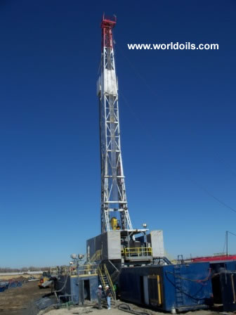 Gardner Denver GD500 Drilling Rig - 600 HP for Sale