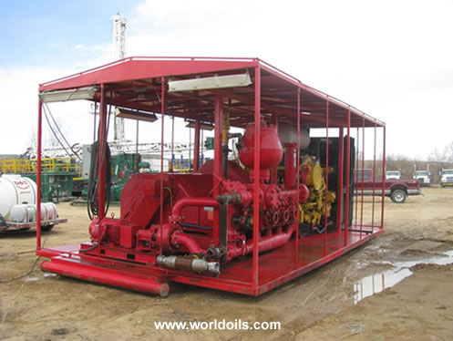 Gardner Denver PZ9 1000hp pump