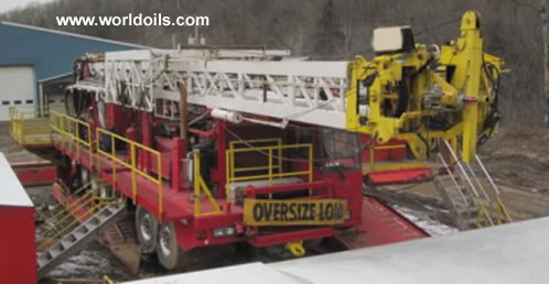 Gefco/Speedstar 185k Drill Rig & Drilling Package -  For Sale