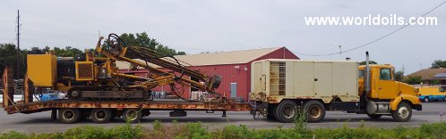 Gill-Beetle Track Drilling Rig - For Sale