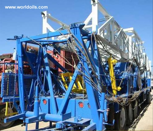 Hopper GXXTA D/D Back-In Well Service Rig for Sale