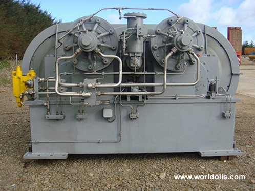 Hitec 130 Tonne Traction Winch
