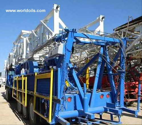 Used Hopper Drilling Rig