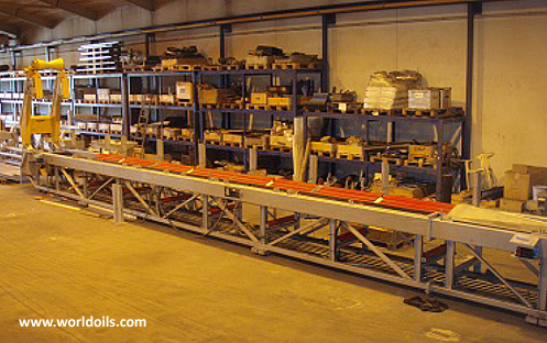 Hydraulic Drill Pipe Conveyor for sale